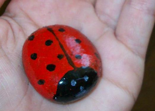 How to make a ladybug?