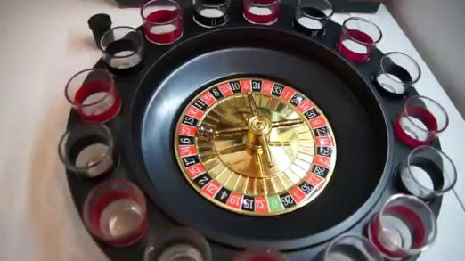 Accessories for alcohol: play roulette, cool with stones