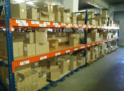 Wholesale warehouses for household chemicals