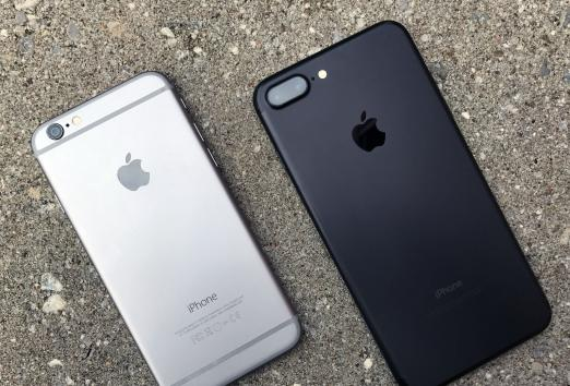 What iPhone 7 is different from the sixth?