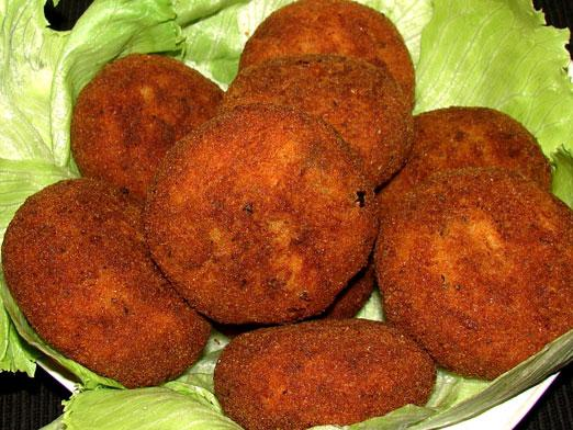 How to cook fish patties?