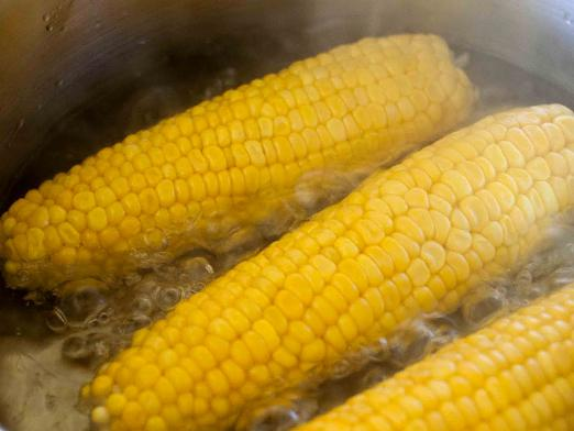 How much to cook corn?