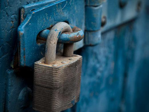 How to lubricate the lock?