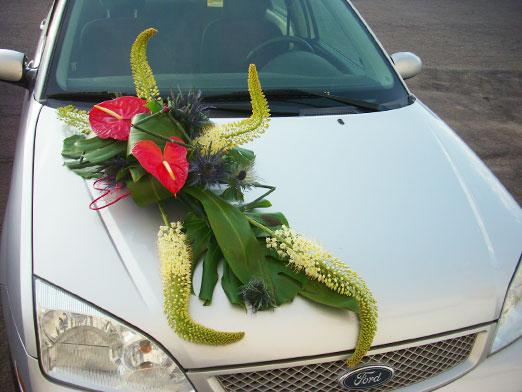 How to decorate the car for the wedding?