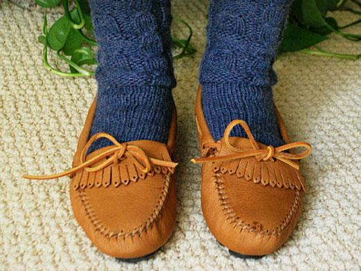 What to wear moccasins?