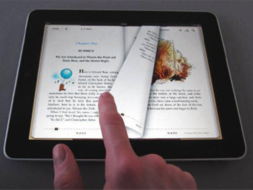 What formats does the iPad support?