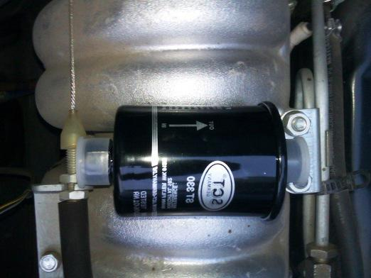 When to change the fuel filter?