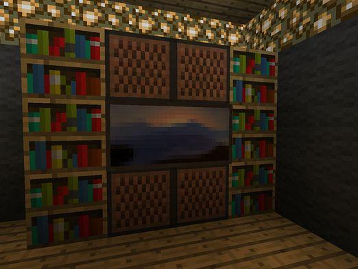 How to make a TV in Minecraft?