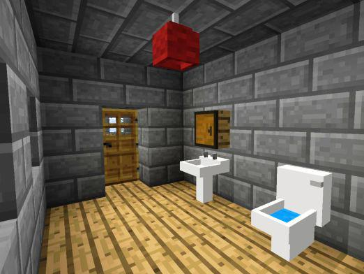 How to make a toilet in Minecraft?