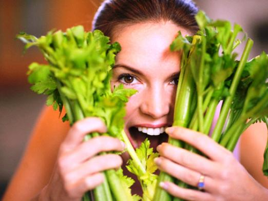 How to eat celery?
