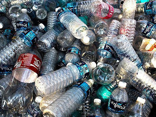 What is a plastic bottle made of?