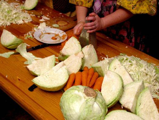 When to sauer the cabbage?