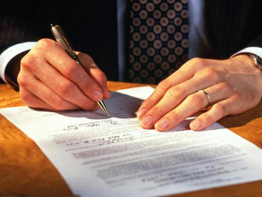 How does a contract differ from a contract?