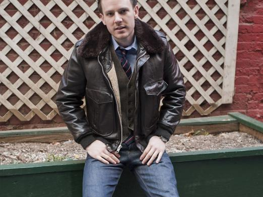 What to wear with a leather jacket?