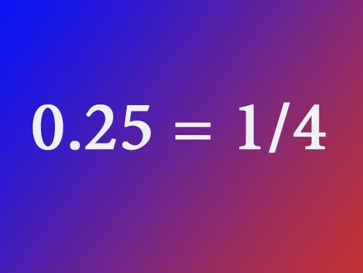 How to convert a decimal fraction to ordinary?