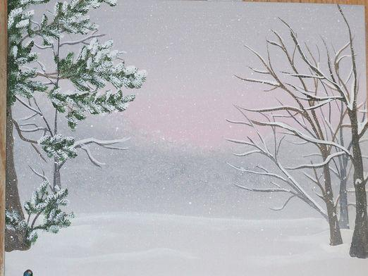 How to draw winter?