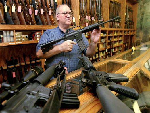 What documents are needed to purchase weapons?