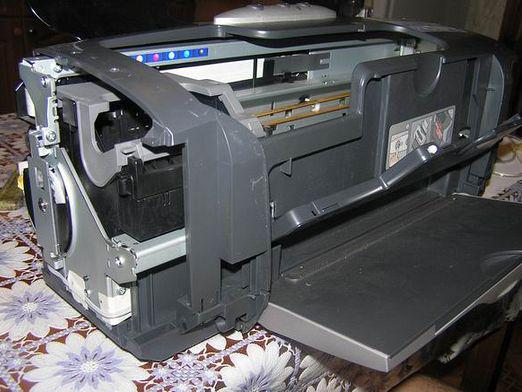 How to remove the head Epson?